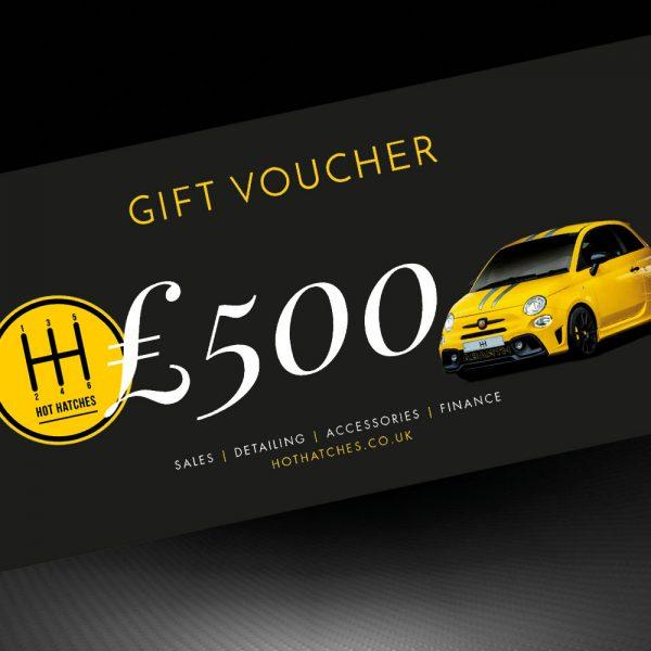 Hot Hatches Ltd Gift Voucher £500