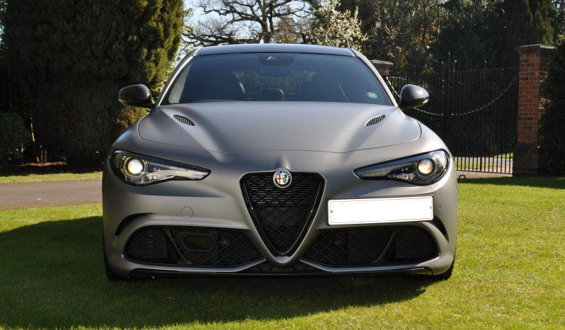 Alfa Romeo Giulia Quadrifoglio NRING full